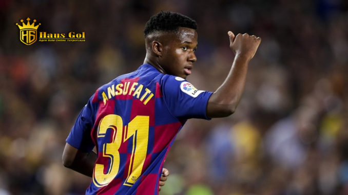 Info Bola Terjitu -Ansu Fati Dan Luis Suarez menunjukkan Barcelona Kuat