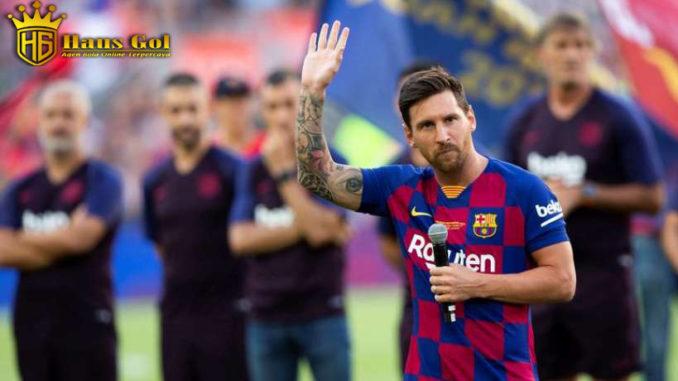 Agen Bola Mandiri -Messi Mencoba Menyelamatkan Dembele Dari kartu Merah