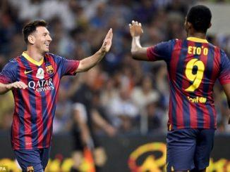 Agen Sabung Ayam Online -Messi Masih Tak Menyangka Samuel Eto'o Memutuskan Untuk Gantung Sepatu